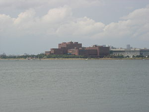 University of Massachusetts - The UMass Boston campus, viewed from Squantum Point Park in Quincy