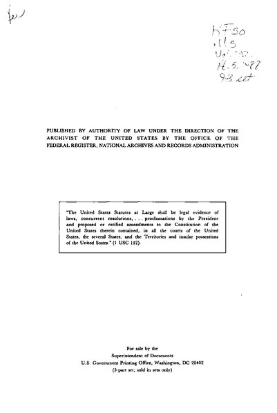 File:United States Statutes at Large Volume 102 Part 5.djvu