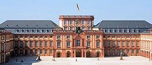 Carl Stamitz - Mannheim Palace (modern view)