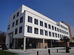 University of Portsmouth Dennis Sciama building.JPG