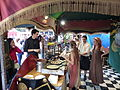 Uno de los puestos del mercado medieval, Alcalá de Henares, Madrid, España, 2015.JPG
