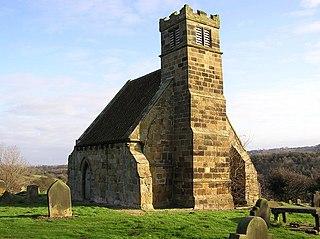 Upleatham village in United Kingdom