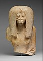 Upper Part of the Seated Statue of a Queen MET DP115767.jpg