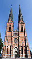 Uppsala cathedral, western facade.jpg