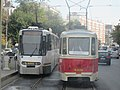 V56 119 and V3A-CH-PPC 4018 on Stefan cel Mare ave.jpg