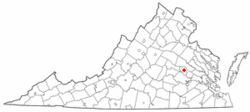 Location of Dumbarton, Virginia