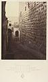 VIIIe Station. Jésus console les filles de Jérusalem. Ici encore une simple marque faite sur le fut d'une colonne encastrée dans le mur indique la station. MET DP345541.jpg
