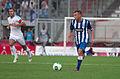 Valais Cup 2013 - OM-FC Porto 13-07-2013 - Benoit Cheyrou et Marat Izmaylov.jpg