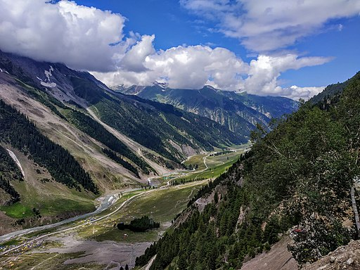 Valley of Sind river