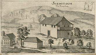 Semič - Siemitsch, Johann Weikhard von Valvasor 1679