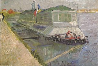 The Laundry Boat on the Seine at Asnières