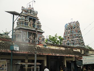 Vayalur Murugan Temple - Image: Vayalur 11
