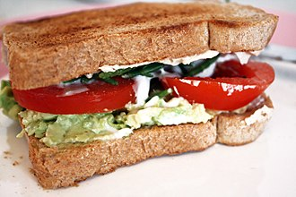 Mayonnaise - A vegan sandwich with egg-free variety of mayonnaise