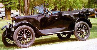 Velie - 1920 Model 34 Touring