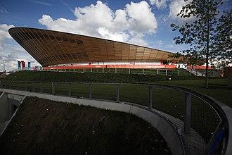 2016 UCI Track Cycling World Championships - Image: Velodrome, Olympic Park (7723920088)