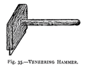 Venerring hammer from The Cabinet Worker's Handybook (Hasluck).png