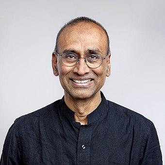 Venkatraman Ramakrishnan has been President of the Society since 2015 Venki Ramakrishnan.jpg