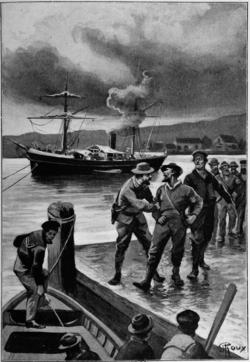 Verne - Les Naufragés du Jonathan, Hetzel, 1909, Ill. page 464