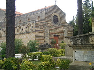 Sicilian Vespers - The church of the Holy Spirit in Palermo.