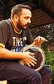 Vienna 2013-07-31 Stadtpark 328 Alp Bora Quartet - Soner Teczan.jpg