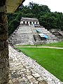 View from The Palace across Courtyard - Palenque Archaeological Site - Chiapas - Mexico (15491086089) (2).jpg