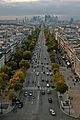View from the Arc de Triomphe, 2009.jpg