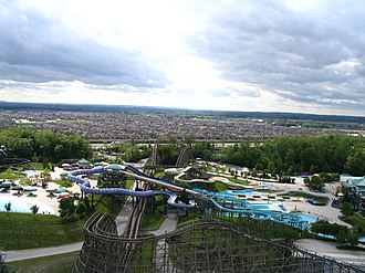 Vaughan - Vaughan as viewed from Canada's Wonderland