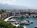 View over Girne from Kyrenia Castle - Girne (Kyrenia) - Turkish Republic of North Cyprus (28526175532).jpg