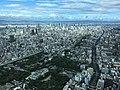 View to the northwest from Abeno Harukas (1).jpg