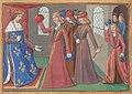 Vigiles de Charles VII, fol. 59v, Charles VII et seigneurs.jpg