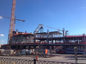 Vikings Stadium Construction 2-Sep-2014.jpg