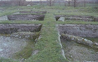 Getafe - Ruins of the Roman villa of La Torrecilla.