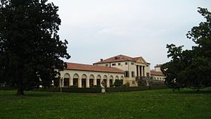 Villa Emo - Another view of Villa Emo.