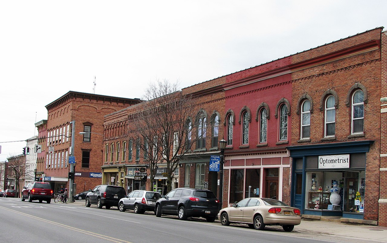 Canton (NY) United States  city photo : Village Park Historic District, Main Street, Canton, New York