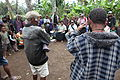 Village discussions about violence against women, White Ribbon Day 2011, PNG. Photo- AusAID (10680530416).jpg