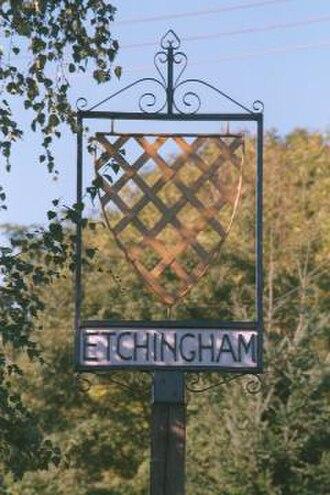 Etchingham - Etchingham village sign