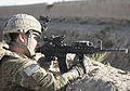 Villagers point security patrol to IED 110629-A-EZ357-157.jpg