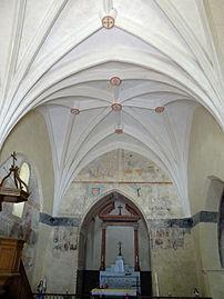 Decoration Religieuse Croix Metallique Bleue Et Blanche En Email Lourdes