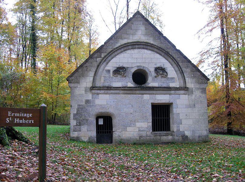 Regard Saint-Hubert (appelé aussi Ermitage). (département de l'Aisne , région Picardie).