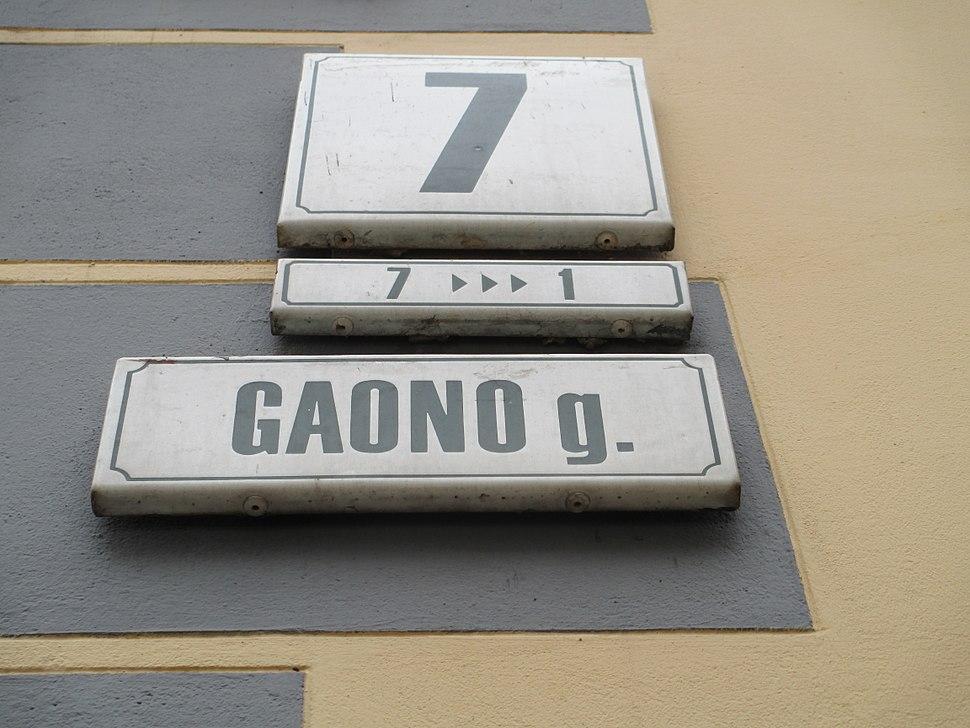 Vilna Gaon Str., Vilnius