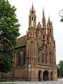 Vilnius.Sv.Onos baznycia.Saint Ann's church1.jpg