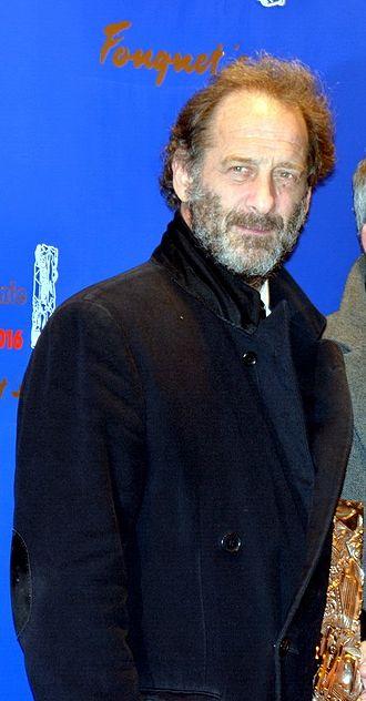 41st César Awards - Vincent Lindon, Best Actor winner.