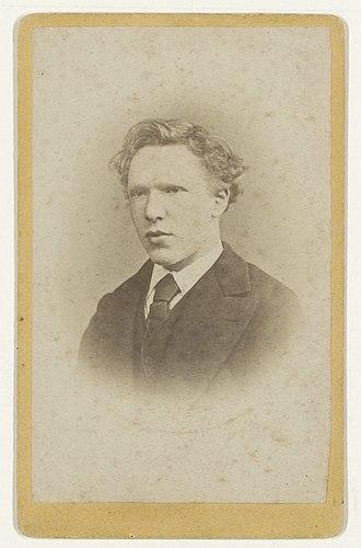 City Hall of Tilburg - Vincent van Gogh in 1873.