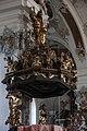 Violau, Wallfahrtskirche St Michael, Pulpit 003.JPG