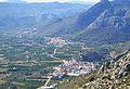 Vista de Tormos, Sagra i el Ràfol d'Almúnia des de Segària.JPG