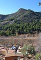Vista de les muntanyes dels voltants de les coves de sant Josep, la Vall d'Uixó.JPG