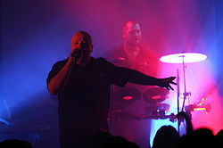 VNV Nation in concerto a New City, Edmonton, nel Settembre 2007