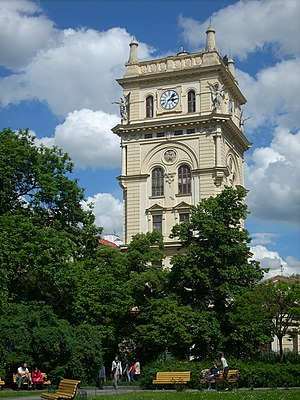 Vinohrady Water Tower - The tower