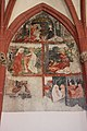 Voelkermarkt - Stadtpfarrkirche Maria Magdalena - Fresko - Aus dem Marienleben.JPG