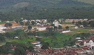 Lofa County - A view of Voinjama